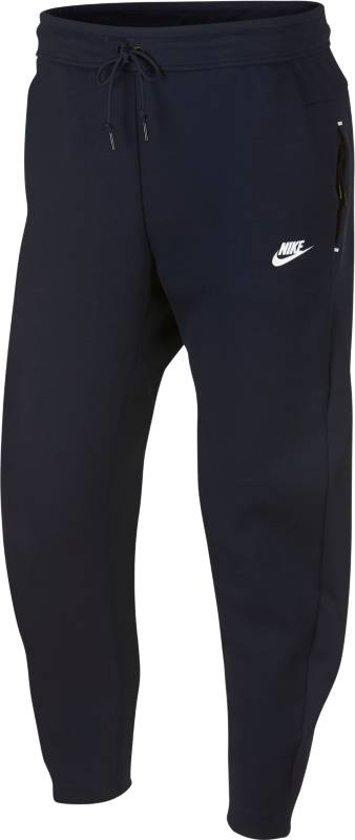 Nike Tech Fleece Pant OH Joggingsbroek Heren - Obsidian/(White) - Maat XL