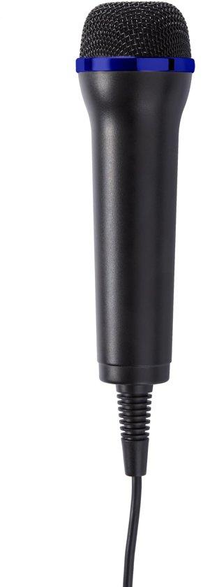 Cover van de game Bigben Official Licensed Microfoon voor Playstation 4 - PS4 - Zwart/Blauw