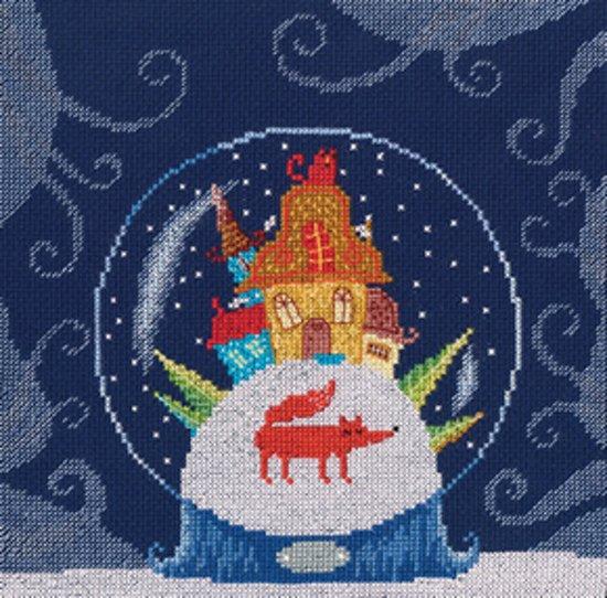 Borduurpakket Winter - Schudbol - RTO