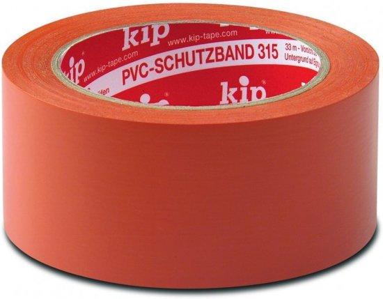 315 Kip PVC masking tape oranje 50mm