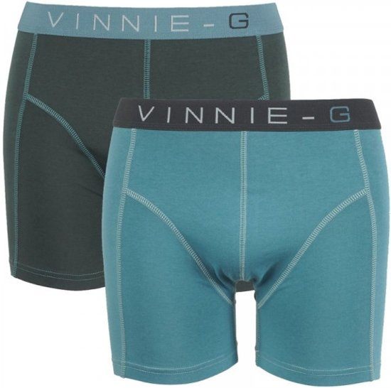 Vinnie-G boxershorts Leaves Uni 2-pack -XXL
