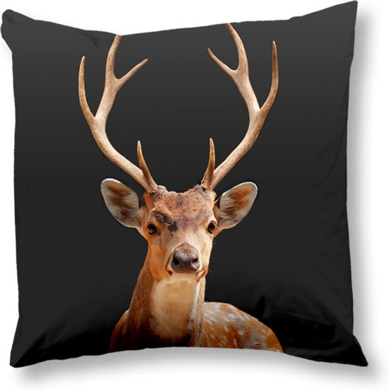 Goodmorning Kussenhoes Deer 50x50 cm