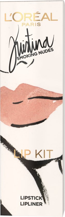 L'Oréal Paris Kristina Bazan Geschenkverpakking - Lippenstift