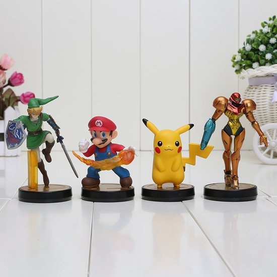 Super Smash Bros. Figure Set