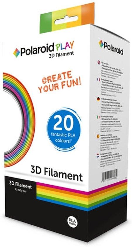 Polaroid Play - Filament / 1.75 mm / 20 kleuren