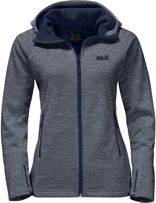 Jack Vest Fleece Dames Midnight Cumbre Trail Wolfskin Blue La Uprnwq4U