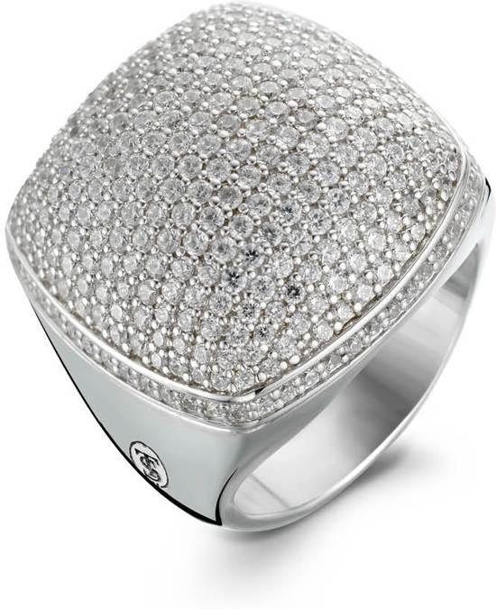 TI SENTO Milano Ring 1929ZI - Maat 56 (17,75 mm) - Gerhodineerd Sterling Zilver