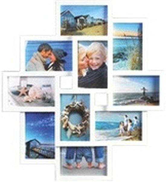 Fotolijst 10 Fotos.Henzo Holiday Gallery 10 Foto S Fotolijst Fotoformaat 4 X10 X 15 6 X 15 X 10 Cm Wit