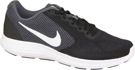 newest collection 3fe33 568f8 Nike Revolution 3 Sportschoenen - Maat 43 - Mannen - zwartgrijswit