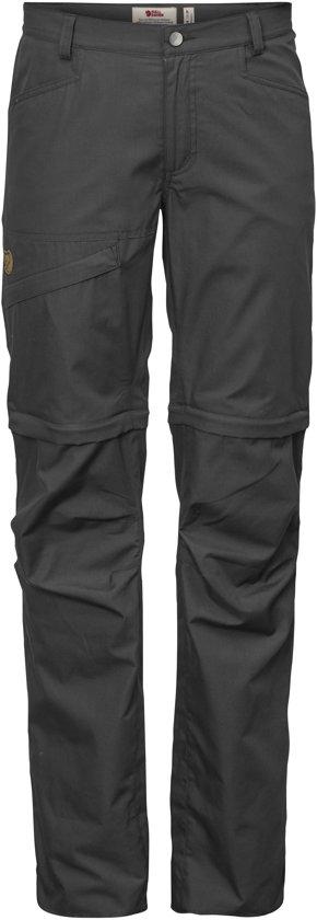 Grey Dark Trousers Dames Off Shade Zip Daloa Fjällräven Outdoorbroek W vpzqI8pwx