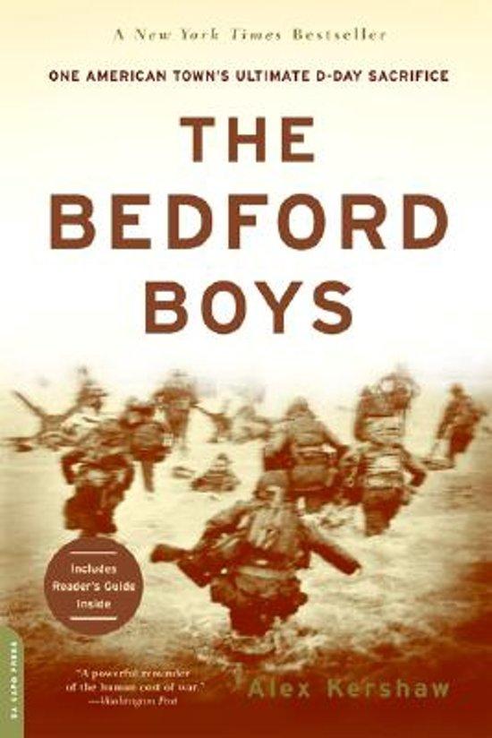 Boek cover The Bedford Boys van Alex Kershaw (Paperback)