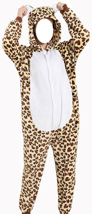 8f57297fb92646 Onesie Luipaard voor volwassenen - Pyjama - Carnaval - Maat M