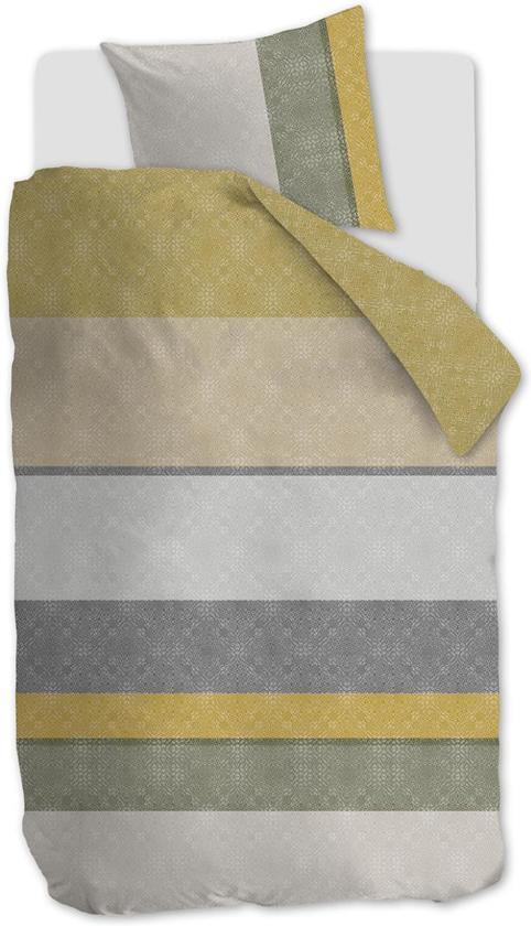 Beddinghouse Colorful Summer Dekbedovertrek - Eenpersoons - 140x200/220 - Goud