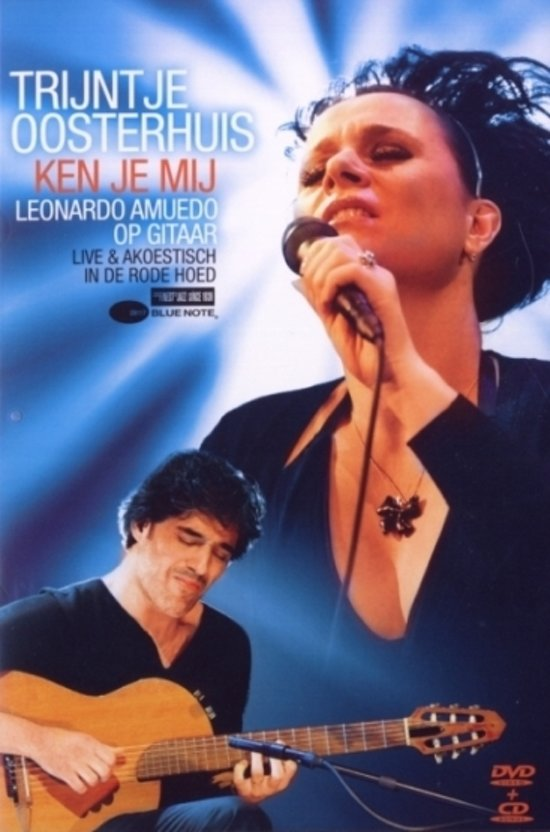 CD cover van Trijntje Oosterhuis - Ken Je Mij (DVD + CD) van Trijntje Oosterhuis
