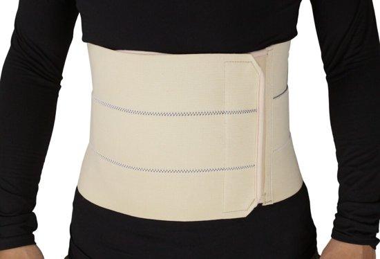 OBBOmed - Elastische 3 banden Bandage gordel - voor extra steun aan de rug, buik en lenden - Maat XL - MB 2310NXL