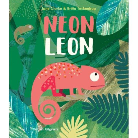 Boek cover Neon Leon van Jane Clarke (Hardcover)