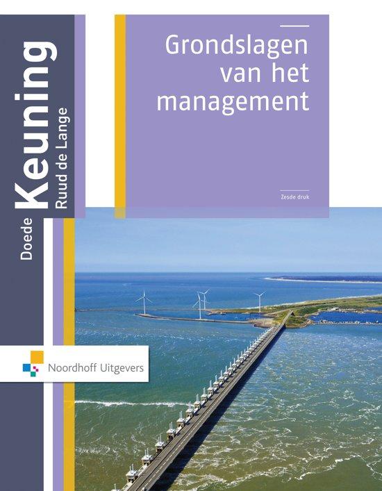 Grondslagen van het management Hoofdboek