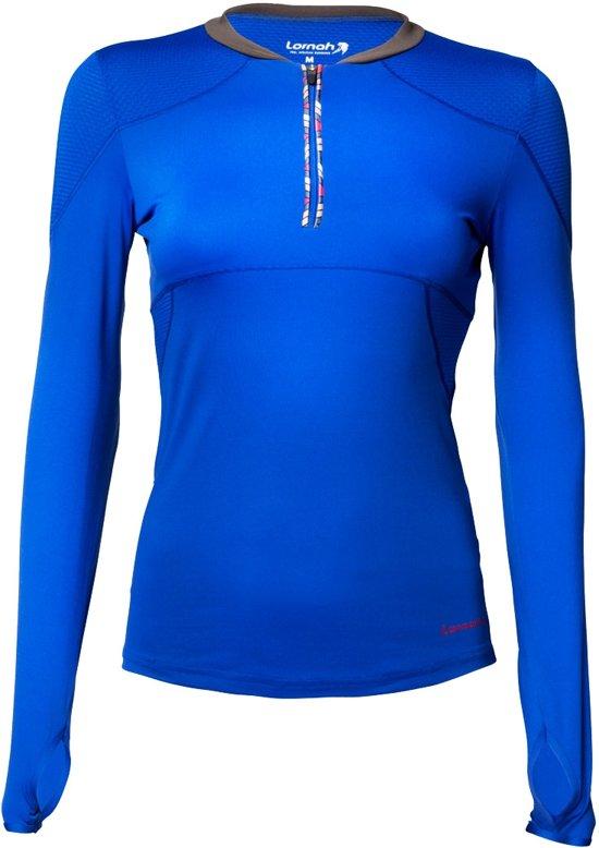 GABRA sport shirt blue / Maat L