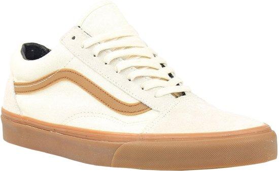 3fbcaa9bffe bol.com | Vans Sneakers Old Skool Gum Stripe Unisex Wit Maat 35
