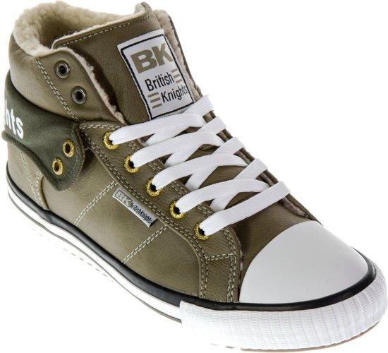 Chevaliers Britanniques Chaussures De Sport - Hauts Roco Taille 38 - Unisexe - Noir / Blanc nYNenbaqb
