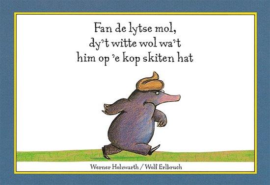 Boek cover Fan de lytse mol, dyt witte wol wat him op e kop skiten hat van Werner Holzwarth (Hardcover)