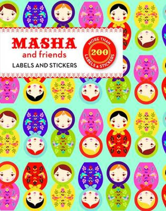Masha and Friends Labels and Stickers