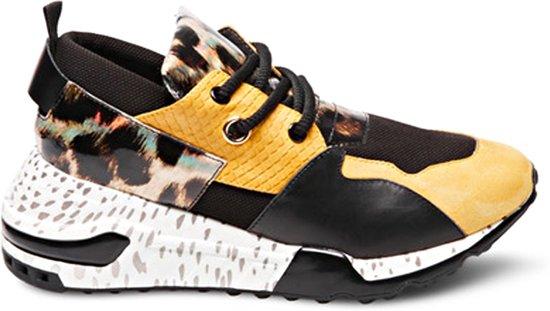 203a6a32efa Steve Madden Dames Sneakers Cliff Sneaker - Geel - Maat 37