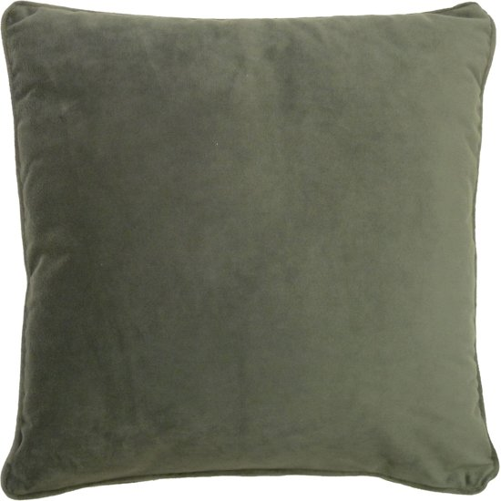 bol.com : Dutch Decor Velvet - Sierkussen - Antraciet - 45x45 cm ...
