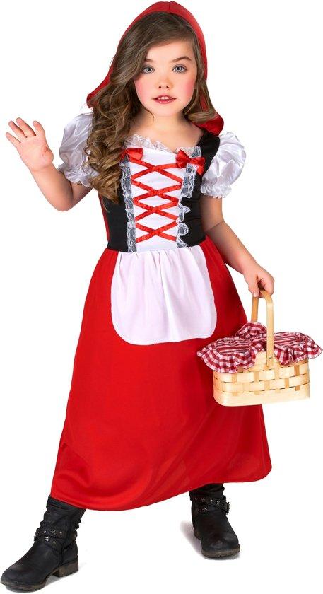 Klein en schattig Roodkapje kostuum voor meisjes - Verkleedkleding