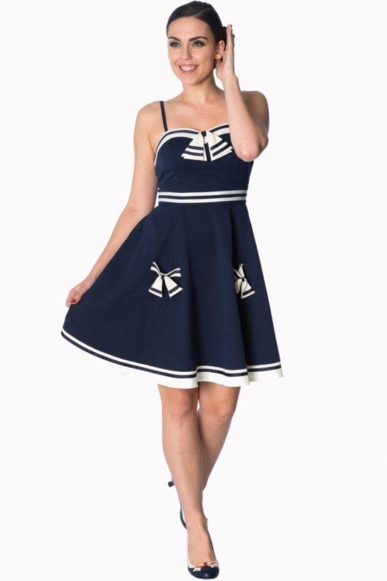 Bol Com Dancing Days Korte Jurk L Set Sail Blauw