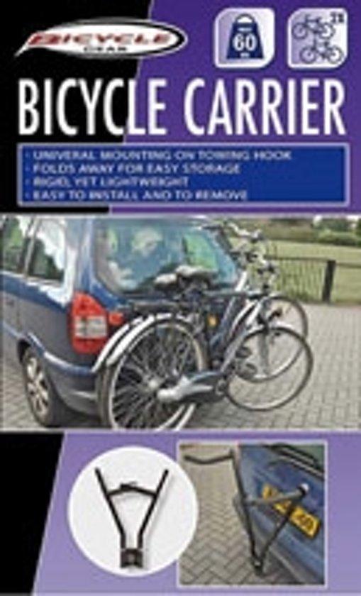 Fietsendrager - 2 fietsen - schaar op trekhaak max 60kg