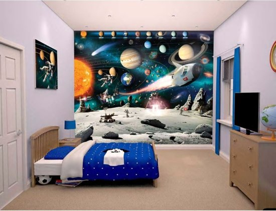 Walltastic Space Adventure - ruimte posterbehang - 305 x 244 cm