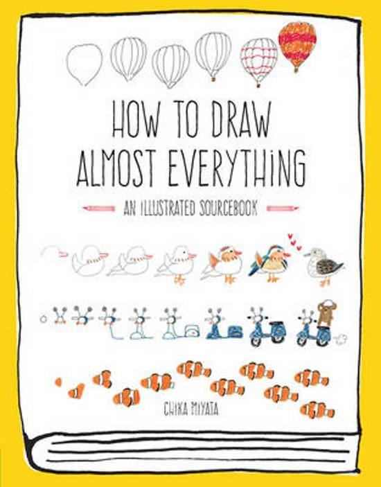 Boek cover How to Draw Almost Everything van Chika Miyata (Paperback)