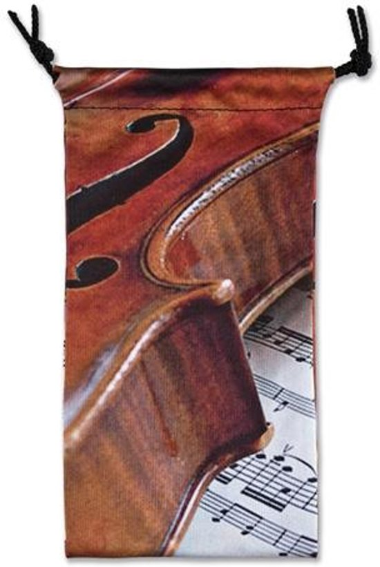 Glasses case Violin/Sheet music