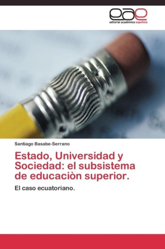Estado, Universidad y Sociedad