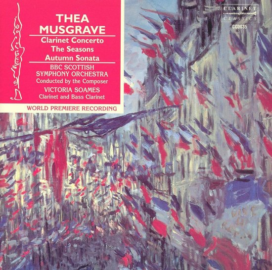 Musgrave: Clarinet Concerto, The Seasons, Autumn S
