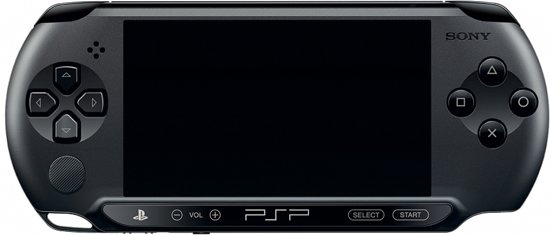 Sony PlayStation Portable 1000 Handheld Console - Zwart PSP