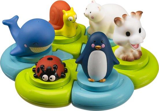 Afbeelding van Sophie de Giraf - Badpuzzel speelgoed