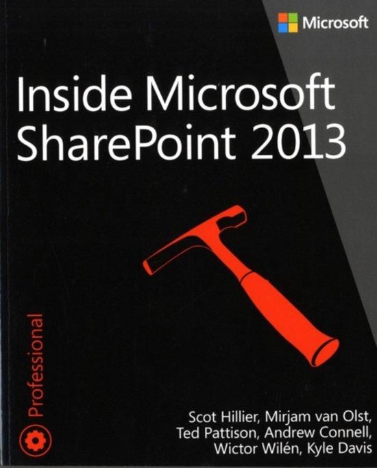 Inside Microsoft SharePoint 2013