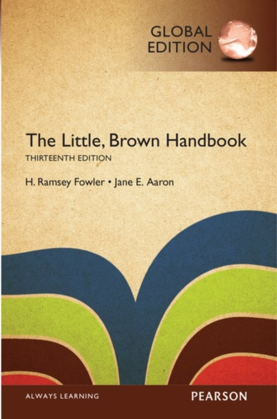 The Little, Brown Handbook, Global Edition - Jane E. Aaron