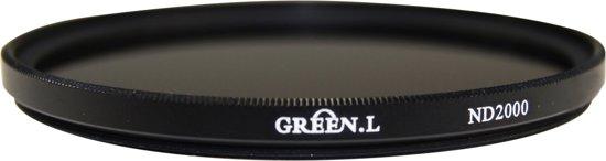 Green.L ND2000 grijsfilter - 11-stops - 72mm