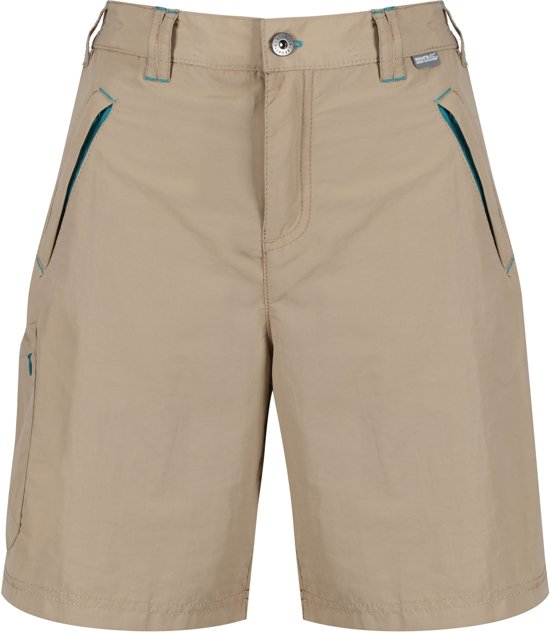 Chaska Dames Bruin Regatta Short Outdoorbroek dBTWRY