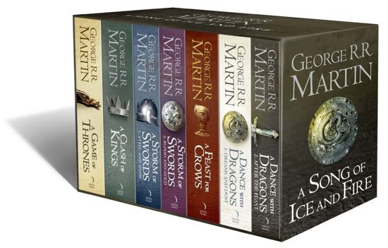 A Song of Ice and Fire boxset (1-7)