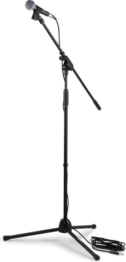 Vonyx microfoonkit bestaande uit microfoon, microfoonstandaard, kabel en houder