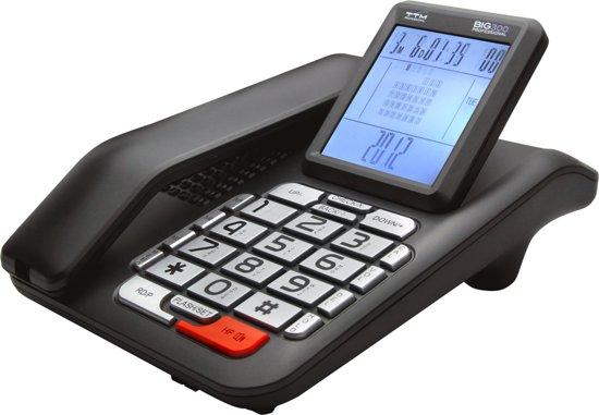 Ttm big300 design telefoon met grote display en toetsen - Telefono fisso design ...