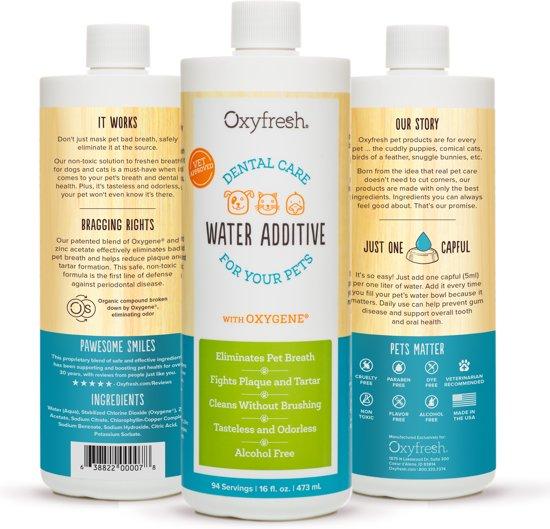 Uitzonderlijk bol.com | OxyFresh Pets mondwater voor hond en kat #RP98