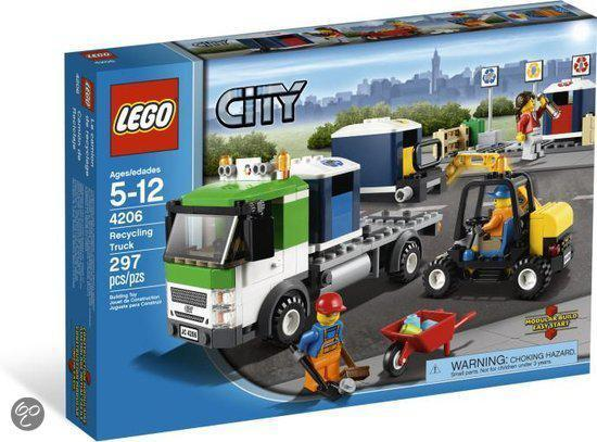 LEGO City Recycling-Truck - 4206