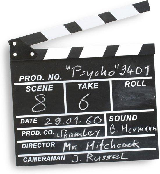Filmklapper-kado-Hollywood 36x27cm.-aanbieding