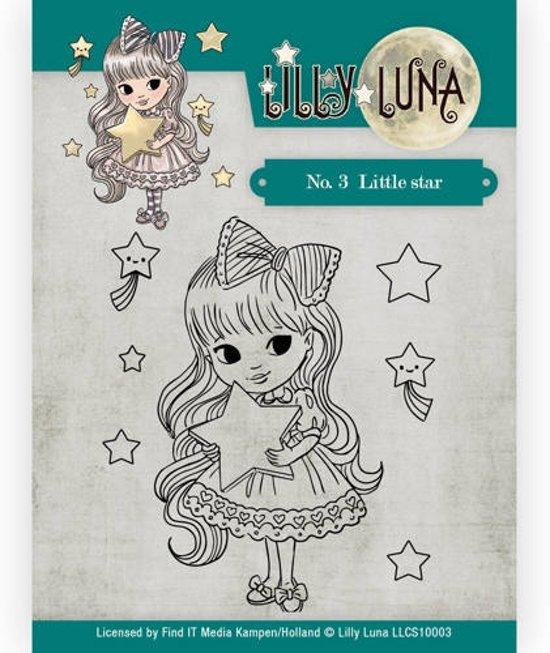 Stempel -Lilly Luna - No. 3 Little Star