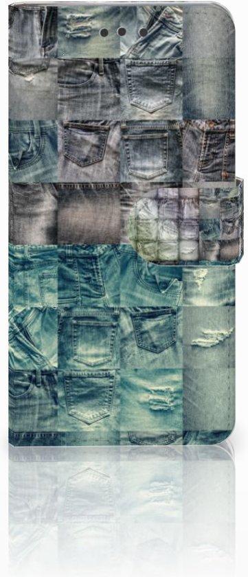 HTC U Play Uniek Design Hoesje Spijkerbroekenprint in Ursem